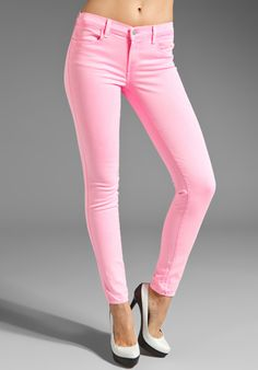 J Brand Pink PARTY E