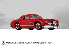 Mercedes-Benz 300 SL Gullwing - 1954