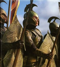 Background armor created for the Elvish army of the Second Age.