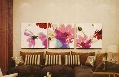 Фиолетовое настроение - Картины по номерам