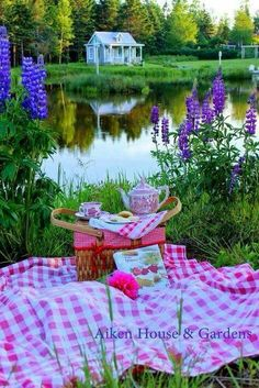 This looks so peaceful and beautiful for a picnic tea today! Another stunning Aiken House photo! I want to be there! Shared from~England in a Cup~ www.etsy.com/shop/englandinacup