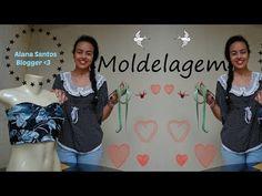 Molde vestido Tubinho por Alana Santos Blogger - YouTube