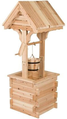 Shine Company Inc. Lawn Accent Wishing Well wellness Shine Company Inc. Lawn Accent Wishing Well Awesome Woodworking Ideas, Easy Woodworking Projects, Wood Projects, Woodworking Bench, Woodworking Techniques, Woodworking Basics, Woodworking Machinery, Woodworking Organization, Woodworking Shop