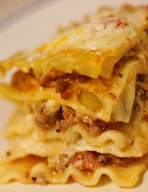 The Disney Chef: Lasagna al Forno~. Funny thing is I was watching The Golden Girls and Sophia was making this to bribe Dorothy. Never heard if it so I thought I would look it up :). I love lasagna anyway so this should super yummy