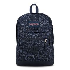 JanSport City Scout Backpack Star Map is a large capacity backpack with one main compartment, 15 inch laptop sleeve, padded shoulder straps, and front organizational pocket. Classic backpack shape with contrast bottom. Mochila Jansport, Jansport Backpack, Handbags For School, Stylish Backpacks, School Backpacks, Purses And Handbags, Laptop Sleeves, Bag Accessories, Fashion Backpack