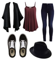 """Mila's casual wear"" by pantsulord on Polyvore featuring Yves Saint Laurent and Vans"