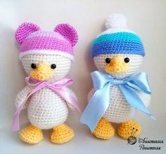 amigurumi duckling crochet pattern