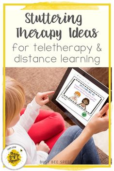 Here are 5 stuttering teletherapy ideas for distance learning. Tackle fluency therapy easily from home.