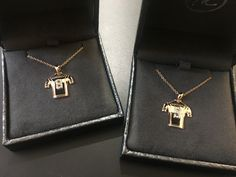 Custom made for the adorable princess STAFFORD twins! gold pendants, with a diamond for their dad! Made by Metals In Time! Gold Pendants, Royal Oak, Metals, Arrow Necklace, Twins, Princess, Diamond, House, Jewelry