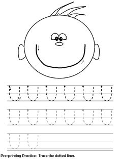 pre-print practice worksheet - lots of others linked to this site too