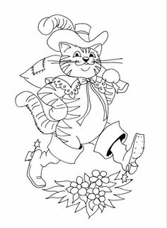 Fairy tales and stories: coloring pages and coloring pages by heimwerker. Coloring Pages For Grown Ups, Coloring Pages For Kids, Free Printable Coloring Pages, Free Coloring Pages, Drawing For Kids, Line Drawing, Fairy Tale Activities, Fable, Color Activities