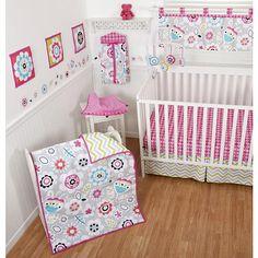 "Sumersault 10 Piece Crib Set- Chelsea - Sumersault Ltd - Babies ""R"" Us"