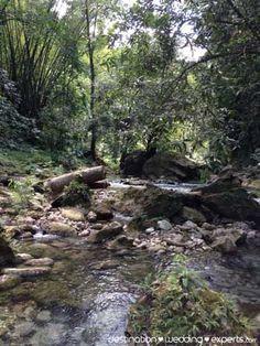 Reach Falls is far less crowded than Dunn's River Falls. Destination-Wedding-Experts.com