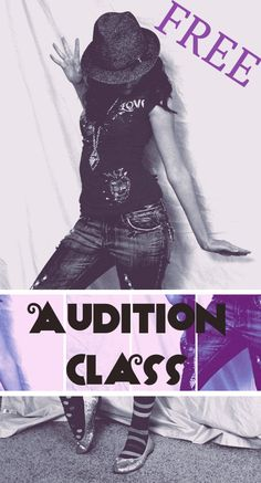 An Audition class for middle and high school students.