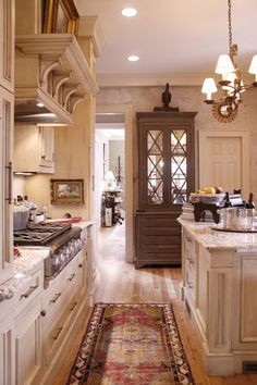 traditional kitchen- rug