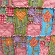 Rag Quilt Instructions has a chart of yardage needed for different sized quilts.