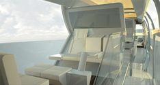 Elegant Diveria Modular Train Concept by Christian Gumpold