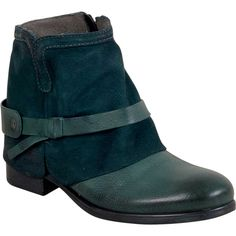 Miz Mooz Seymour Women's Ankle Boot F Ankle Boot ($129) ❤ liked on Polyvore featuring shoes, boots, ankle booties, blue, blue boots, short boots, blue bootie, bootie boots and ankle boots