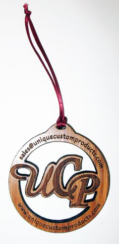 Elegant custom engraved Ornaments #woodornament #customornament #engraved #engravedwood