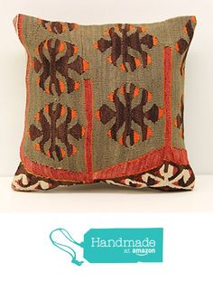 Turkish Handmade kilim pillow cover 12x12 inch (30x30 cm) Throw Kilim pillow cover Sofa Decor Small Pillow cover Accent Kilim Cushion Cover from Kilimwarehouse https://www.amazon.com/dp/B01M2WZPJB/ref=hnd_sw_r_pi_dp_Fe5.xb2NCMPHE #handmadeatamazon