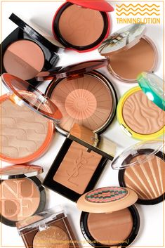 Top Blush and Bronzers To Enhance Your Glowing Summer Tan | Blush and bronzers are two makeup products that help you define a great look. When you're sporting your summer tan, this can completely change your daily makeup routine. Read on to learn more about the best blush and bronzers to wear and how to apply bronzer and blush when you have tanned skin. How To Apply Bronzer, Best Bronzer, Face Bronzer, Daytime Smokey Eye, Daily Makeup Routine, Too Faced Bronzer, Smokey Eye Tutorial, Fake Tan, Makeup Obsession