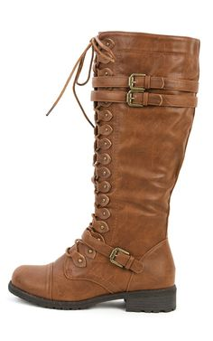 Wild Diva Womens Timberly-65 Boots - ShoeCenter.com. These, but in black