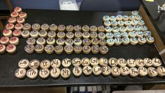 Periodic Table of Cupcakes! Made for my ap chemistry class by me and a friend (: