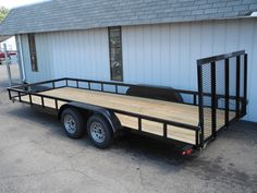 This double axle trailer is BIG! It is 20 feet long, 82 inches wide, and has a GVWR of 7000 lbs, so it can haul just about anything. Plus it features a spring-assisted ramp gate for easy operation (an important feature on a ramp gate this large!). Only $2690. See more at: http://www.powerequipmentsolutions.com/products-a-services/online-store/trucks-a-trailers/new-82qx20-tandem-axle-cargo-trailer-with-rear-ramp-gate.html  #trailer #rampgate #madeinUSA #hauling #cargo #forsale #PES #Vandalia