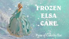 FROZEN ELSA DOLL CAKE HOW TO MAKE