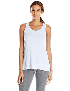 Calvin Klein Performance Womens Mini Waffle Tunic Tank White Medium ** You can find more details by visiting the image link.(This is an Amazon affiliate link)