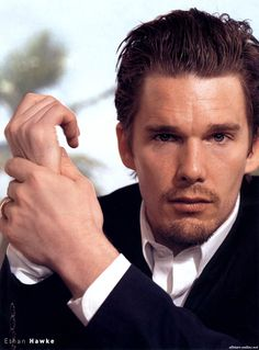 Oh my, isn`t he just dreamy...Actor Ethan Hawke