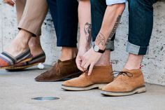 ryanmat: My feet/tattoos are on Four-Pins today, via Liam,along with Nateand Jake