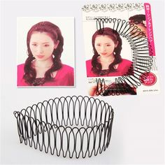 Invisible Hair Styling Tool Women Headwear Roll Curve Inserted Hairpins Hairgrips Fring Hair Comb Clips Barrette Accessories