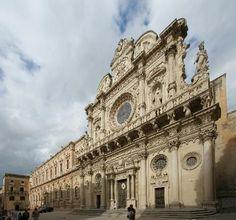 Lecce, Italië: chiesa di santa croce