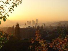 Sarajewo, Bosnia and Herzegovina. Beauty at dawn.