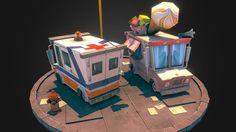 Ice Cream and Ambulance by umer.memon