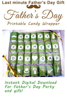 Father's Day Gift and Party Favor  Mini by MyPrintableTreasures