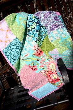 Custom Crib Quilt  Gender Neutral or Your by StarlitNestGifts, $165.00