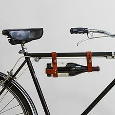 Cool! bicycle wine rack from RedEnvelope.com  Wanna go for a bike ride?