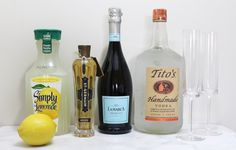 See what bubbly drink we are making with these on the blog! #drinks #drinkrecipe #champagne #bubbly #summerdrinks