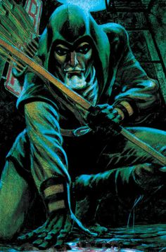 """Green Arrow by Mike Grell  The Longbow Hunters Or ongoing GA series """"On Target Every Month!"""" sales pitch"""