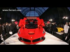 LaFerrari Hybrid is Queen of France:  The new special limited edition car from Maranello was a magnet for over 200 journalists who attended its premiere this afternoon on the opening day of the Tour Auto Optic 2000.
