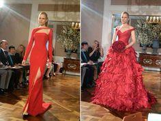 Do you dare to wear a red wedding dress?