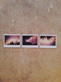 sunset triptych by Lori Sandoval Photography