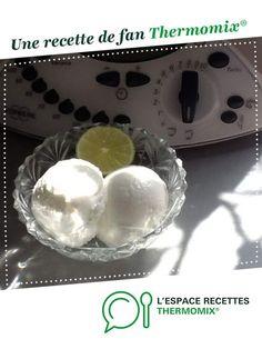 Sorbet citron par Nat38. Une recette de fan à retrouver dans la catégorie Desserts & Confiseries sur www.espace-recettes.fr, de Thermomix®.
