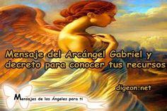 Mensaje del Arcángel Gabriel y decreto para CONOCER TUS RECURSOS + DECRETO PARA ENCONTRAR UN…