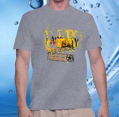 tshirt men, cotton combet gildan front custom Cargo Dockland Y85 (spor – UCUSTOMCASE