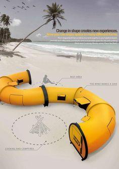 Effortless Camping Tent | Yanko Design