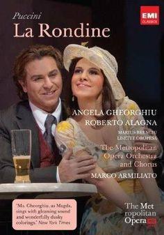 Puccini: La rondine - Live from the Met DVD 2010 NTSC: Amazon.co.uk: Angela Gheorghiu: DVD & Blu-ray