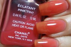 Chanel Le Vernis ECLATANT PINK TINT